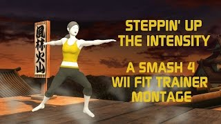 Steppin' Up The Intensity – A Smash 4 Wii Fit Trainer Montage