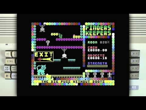 Eshaktaar - Finders Keepers  1985 Mastertronic Music by David Dunn The game was requested by Inphanta Hardware used: C64C and 1541 Ultimate-II Cartridge. Captured with ...