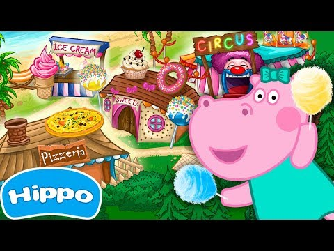 Hippo 🌼 Cafe Mania 🌼 Kids Cooking Games 🌼 Videos Trailers