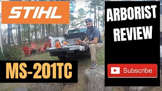 """3. STIHL MS 201 T C-M Review - the """"ultimate arborist chainsaw"""