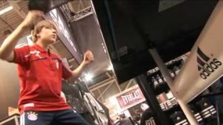 Adidas Table Tennis - ISPO 2010