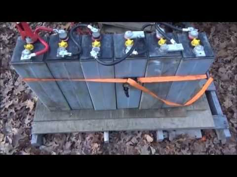 Testing Solar Batteries After 6 Days Away From The Tiny Home