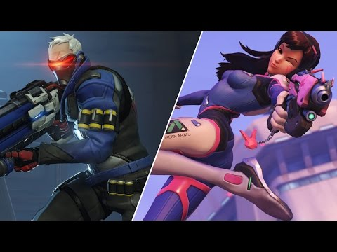[ Overwatch ] Most fun games from the stream (18 Dec)
