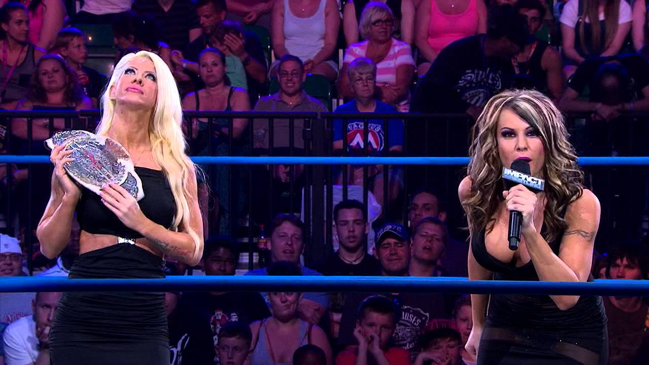 Angelina Love confronts Madison Rayne backstage (March 20, 2014 ...