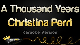 Video Christina Perri - A Thousand Years (Valentine's Day Karaoke) MP3, 3GP, MP4, WEBM, AVI, FLV Juni 2018