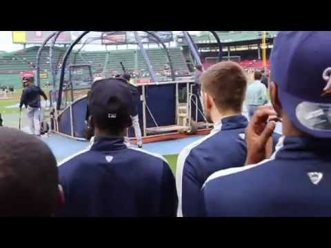 1st - The UConn Men's Basketball team shipped up to Boston to be honored before the Red Sox vs. Yankees game, where Shabazz Napier threw out the ceremonial first pitch Song Credit: Dirty Water -...