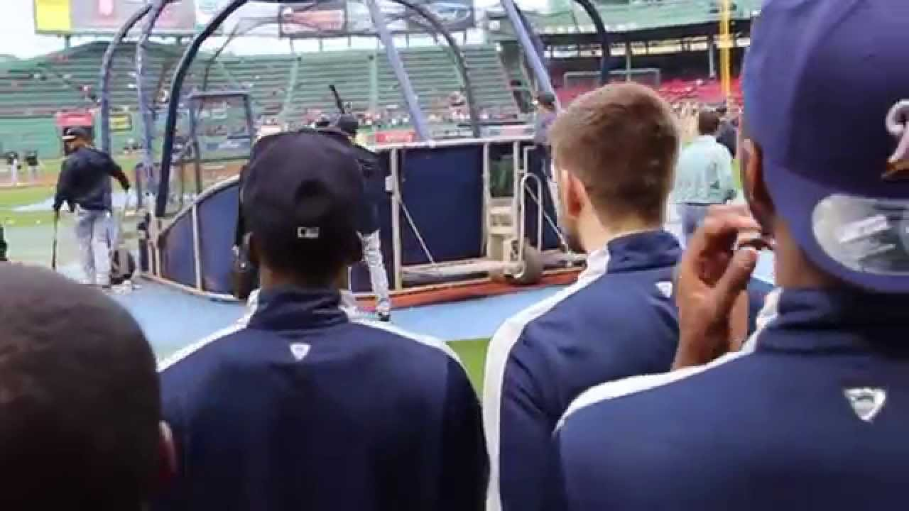 UConn Basketball Visits Fenway to Throw 1st Pitch