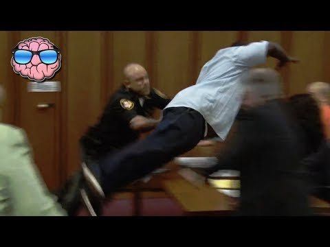 10 MOST SHOCKING Court Moments CAUGHT ON TAPE (видео)