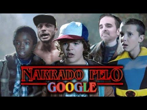 Google tradutor -  STRANGER THINGS - Narrado Pelo Google (Paródia)