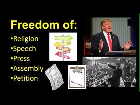The 1st Amendment Explained