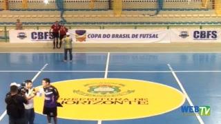 Ginásio Joaquim Domingos Neto, HORIZONTE -CE. Transmissão TV WEB HORIZONTE e CBFS.