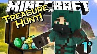 Minecraft | THE CURSED PIRATE COVE! - Treasure Hunt Adventure ep 1/2