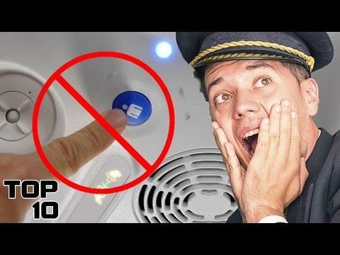 Top 10 Things You Should NEVER Do On A Plane (видео)