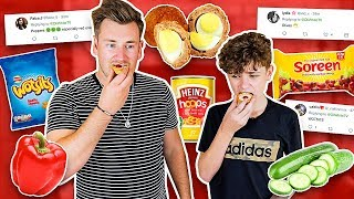 Video TRYING FOODS OUR VIEWERS HAVE NEVER LIKED MP3, 3GP, MP4, WEBM, AVI, FLV Oktober 2018