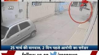 لحظة اختطاف رجل لشابة في الشارع لاغتصابها