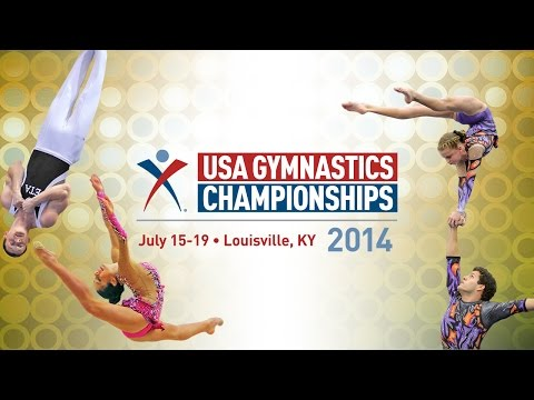 Rhythmic - Live coverage of the rhythmic gymnastics Jr. Elite all-around finals from the 2014 USA Gymnastics Championships in Louisville, Ky.
