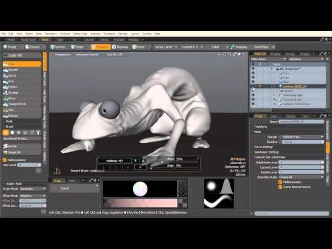 MODO Top Tip: Add Greater Detail with More Control with Multi-Resolution workflows