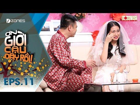 """Ơn Giời Cậu Đây Rồi Tập 11 Full: Hòa Minzy nói """"ăn cơm trước kẻng,"""" Trấn Thành đáp """"Hari Won đã héo"""""""