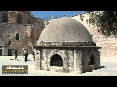 Via Dolorosa - Station #9 - between the Copts and Ethipians