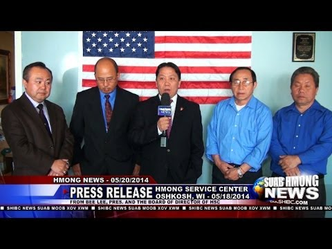 Suab Hmong News:  Press Release from Oshkosh Hmong Service Center on 05/18/2014