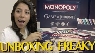 UNBOXING SUPER ESPECIAL: GAME OF THRONES MONOPOLY