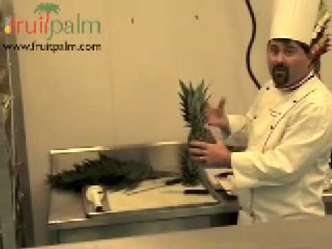 How To Build an Edible Fruit Palm Tree for Theme Parties (видео)