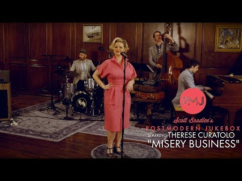 Misery Business - Paramore (1940's Jazz Cover) ft. Therese Curatolo
