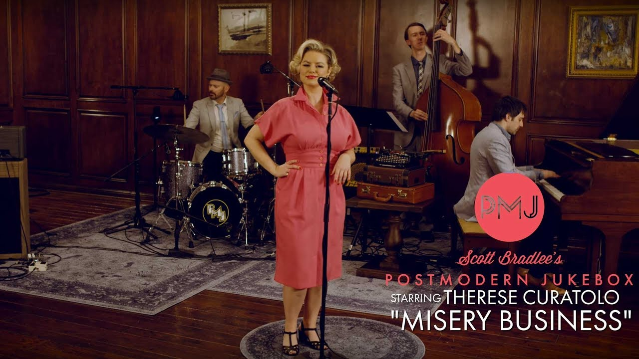 Misery Business – Paramore (1940's Jazz Cover) ft. Therese Curatolo