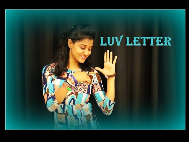 luv letter dance choreography
