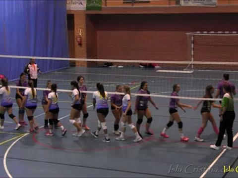 Resumen Club Voleibol Isla Cristina juvenil vs PMD Gibraleón