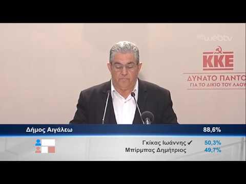 Δ. Κουτσούμπας: Συνεχίζουμε την αγωνιστική μας πορεία | 02/06/2019 | ΕΡΤ