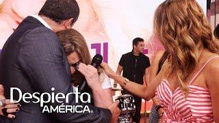 La cantante boricua Ednita Nazario estuvo de lo más feliz durante el programa, pero al finalizar no pudo contener las lágrimas de la emoción al interpretar su nueva éxito 'Adiós'.SUSCRÍBETEhttp://bit.ly/20L91KL Síguenos enTwitterhttps://twitter.com/DespiertaAmericFacebookhttp://facebook.com/despiertamericaVisita el sitio oficialhttp://www.univision.com/shows/despierta-america/inicio En Despierta América encontrarás, tips de belleza, recetas, invitados famosos, entrevistas exclusivas , noticias, rutinas para ponerte en forma y  mucha diversión. Karla Martínez, Alan Tacher, Satcha Pretto, Johnny Lozada, Ana Patricia y Francisca te esperan todos los días de Lunes a Viernes 7AM/6C por Univision