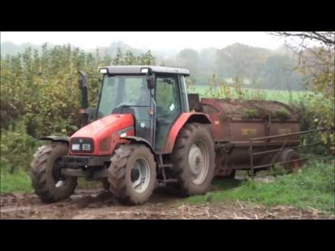 Video Muck spreading with a Massey Ferguson tractor download in MP3, 3GP, MP4, WEBM, AVI, FLV January 2017