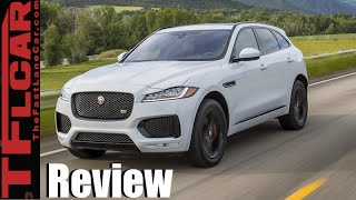 2017 Jaguar F-Pace Review: Can a AWD Crossover be Sexy, Fast & Fun to Drive? by The Fast Lane Car