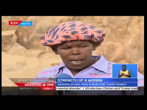 Weekend at One: Women of Chaka Stone Quarry in Nyeri speak of their hardships, 22/10/16