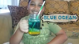 Cara Membuat Minuman Blue Ocean Dengan Mudah