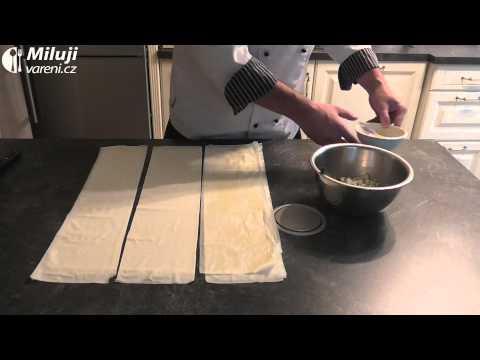 Boreky se sýrovou náplní