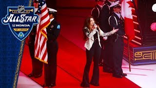 Tenille Townes sings Canadian anthem at All Star Game by NHL