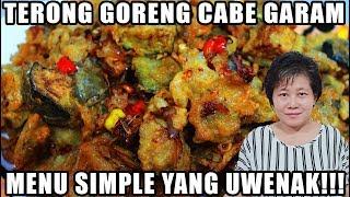 Video Resep : Terong Goreng Cabe Garam Menu Simple Dan Uwenak Tenan!!! MP3, 3GP, MP4, WEBM, AVI, FLV Maret 2019