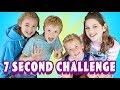7 Second Challenge w/ Annie Rose!