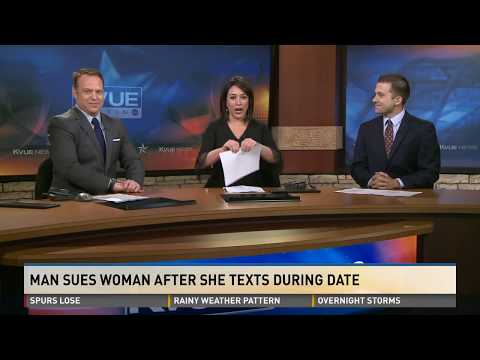 Man sues woman after she texts throughout date, leaves him at theater