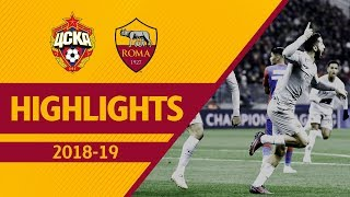 Download Video MANOLAS + PELLEGRINI! CSKA Moscow 1-2 ROMA, Highlights UCL 2018-19 MP3 3GP MP4