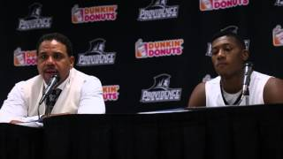 Kris Dunn, Ed Cooley St. John's Post Game