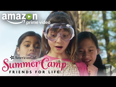 An American Girl Story: Summer Camp, Friends for Life (Official Trailer) | Prime Video Kids