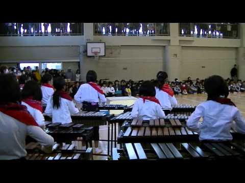 市立平間小学校で、父兄を招待して『全校音楽会』が開かれまし