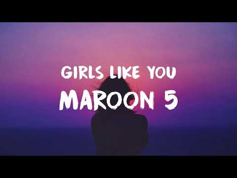 Video Maroon 5 - Girls Like You (Lyric / Lyrics Video) download in MP3, 3GP, MP4, WEBM, AVI, FLV January 2017