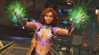 INJUSTICE 2 Starfire Gameplay Trailer & Super MoveAs the next Queen of Tamaran, Princess Koriand'r found herself the victim of her fratricidal sister's vengeful plot that resulted in their planet being conquered. Now a royal exile on Earth, Koriand'r uses her ability to absorb and convert ultraviolet energy as Starfire.Subscribe Herehttps://www.youtube.com/channel/UCm4WlDrdOOSbht-NKQ0uTeg?sub_confirmation=1Twitch Channel Here http://www.twitch.tv/rabidretrospectgamesTwitterhttps://twitter.com/RabidRetroGPATREONhttps://www.patreon.com/user?u=2795437Feel free to check out our channel! We've got walkthroughs from everything from Resident Evil 7 to LoZ Breath of the Wild.