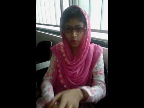 Bangladesh university girl's love.