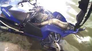 5. LOT 1790A 2006 Polaris Fusion IQ 600 Engine Compression Test