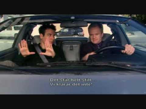 How I met your mother - Barney's driving